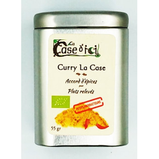 Curry La Case, pour plats relevés, La Case d'Ici, Langon, Bretagne