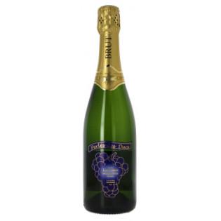 """Vin Mousseux de qualité """"Méthode Traditionnelle"""" Perle des Ducs 75cl"""