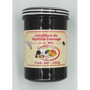 Confiture de Myrtille Sauvage 230g