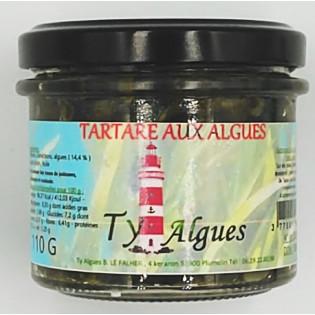 Tartare aux Algues conçu par Ty Algues, Plumelin, Morbihan, Bretagne