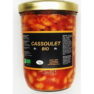 Cassoulet Bio 760g