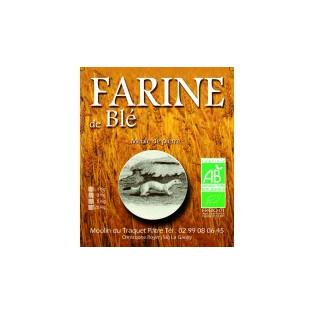Farine de blé Bio T80 3kg
