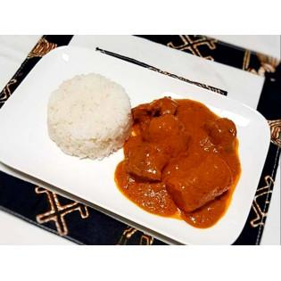Menu Adulte Sénégalais Plat + Dessert 1 part