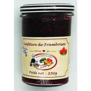 Confiture de Framboises, La Fruitière de Colpo, Plumelin, Morbihan, Bretagne