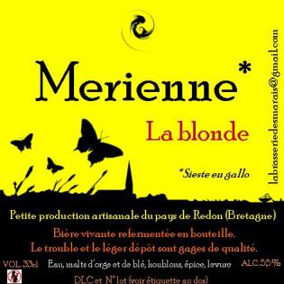 Merienne La Blonde 33cl