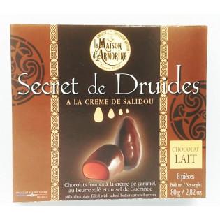 Secret de Druides chocolat au lait, Maison d'Armorine, Quiberon, Morbihan