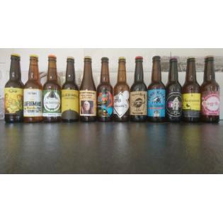 Coffret mensuel 12 bières