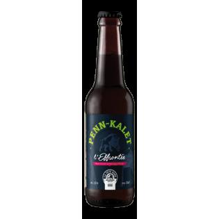 Bière Brune Penn Kalet L'Effrontee BIO