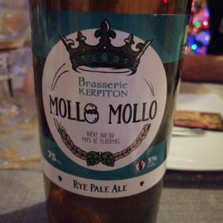 Bière Blonde Mollo Mollo, Brasserie KERPITON, Loyat, Pays de Ploermel, Morbihan, Bretagne