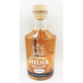Rhum arrangé Citron Vanille, Distillerie du Golfe, Vannes, Morbihan, Bretagne