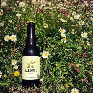Bière Blonde, saison 6 Epeautre, Brasserie le Horla, Grand-Champ, Morbihan, Bretagne