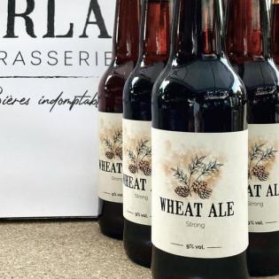 Bière Brune, Wheat ale strong, Brasserie le Horla, Grand-champ, Morbihan, Bretagne