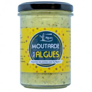 Moutarde aux algues, Ty Algues, Plumelin, Morbihan, Bretagne