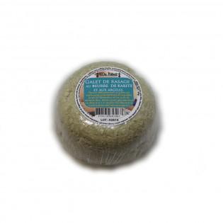 Galet de rasage au beurre de karité et aux argiles 90g