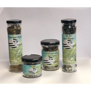 Gros sel aux algues 100g