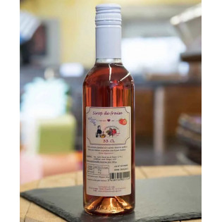 Sirop de fruits Fraise 33cl