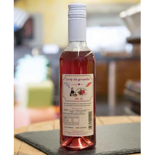 Sirop de fruits Mûre sauvage 33cl