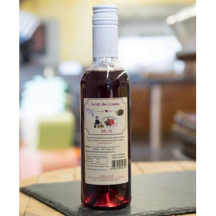 Sirop de fruits Cassis 33cl