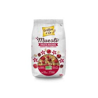Muesli fruits rouges 500g GO AB