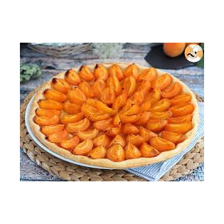 Tarte cannelle abricot