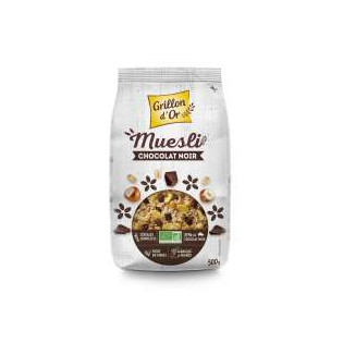 Muesli chocolat sans gluten 500g GO AB