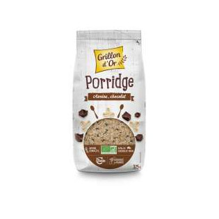 Porridge Avoine chocolat 375g GO AB