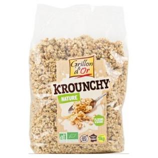 Krounchy Amande Avoine sans gluten 500g GO AB