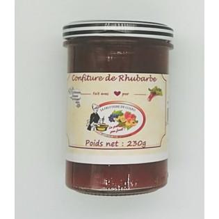 Confiture Rhubarbe 230g