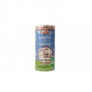 Galettes 5 céréales sans gluten 130g GO AB