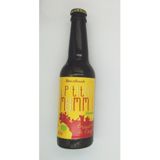 Bière blonde Bio La P'tite Mamm