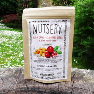 Noix de cajou et cranberries 100g